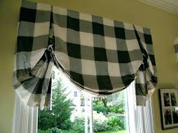 Black Check Curtains Black And White Checked Curtains Black Plaid Curtains Coffee And