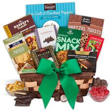 snack basket gourmet snack gift baskets by gourmetgiftbaskets