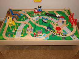 thomas train table track set