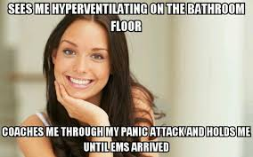 Panic Attack Meme - i had a panic attack for the first time at my serving job i never