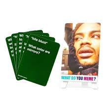 Meme Card Game - what do you meme stoner expansion pack