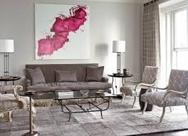Pink Table L Pink Living Room Furniture Black Polished Wooden Wall Corner