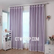 Purple Bedroom Curtains Purple Bedroom Stylish Lace Curtains With Sheer And Lace