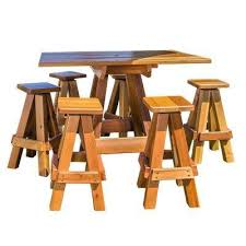 Patio Bar Furniture by Wood Patio Furniture Outdoor Bar Furniture Patio Furniture