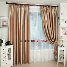 Gold Thermal Curtains Light Coffee Blackout Lining Of Insulated And Thermal Curtain Buy