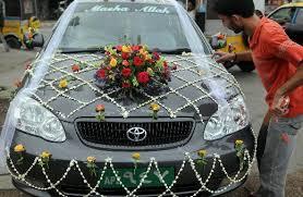indian wedding car decoration wedding car decoration fashion in new look