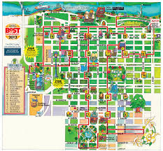 Chicago Attraction Map by Maps Update 13681267 Savannah Ga Tourist Attractions Map