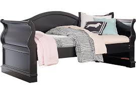 oberon black 3 pc twin daybed daybeds colors