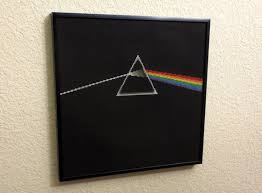 cross stitch pattern side of the moon album cover