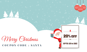 christmas gift and surprise offer of 20 discount on all products
