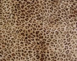 leopard fabric leopard fabric etsy