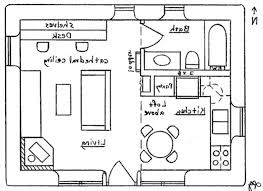 simple house plan drawing
