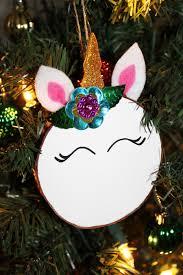 ornaments unicorn ornament unicorn felt
