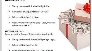 wedding gift guidelines 15 cool appropriate wedding gift amount diy wedding 29645