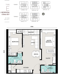 floor plan key lucentia residences