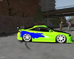 eclipse mitsubishi fast and furious gta gaming archive