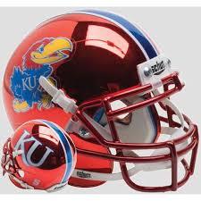 kansas jayhawks fan gear kansas jayhawks helmet kansas football helmet speedy cheetah
