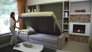 Wall Bed Sofa Systems Storage Wall Bed Milano Smart Living Youtube