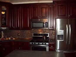 lately dark brown kitchen cabinets tribecca door style kitchen