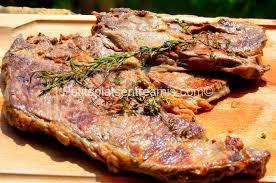 comment cuisiner basse cote basse côte de bœuf grillée à la plancha petits plats entre amis