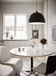my scandinavian home a very cool black and white swedish home