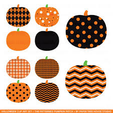 halloween graphic art clip art pumpkins halloween harvest patterned pumpkin