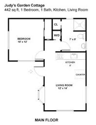 Backyard Guest House Plans by 20 U0027x30 U0027 1 Story Cottage Plans House Ideas For Farm Pinterest