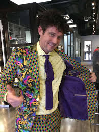 mardi gras suits this mardi gras suit will make you want to party houston chronicle