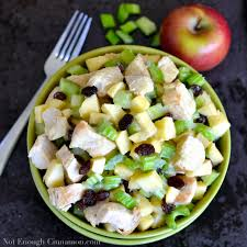 Celery Salad Apple And Celery Chicken Salad Not Enough Cinnamon