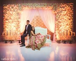 Wedding Decorators Reception Portrait In Jersey City Nj Indian Wedding By Lightyear
