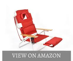 reclining beach chair with footrest october 2017 complete user review