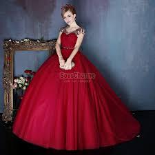 robes de mari e bordeaux robe de cérémonie le pour mariage en tulle bordeaux col