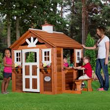 summer cottage playhouse with toys playhouses toy and summer