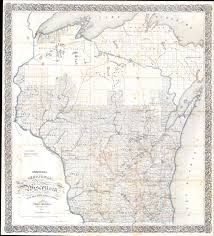 Wisconsin Map by File 1856 Chapman Pocket Map Of Wisconsin Geographicus