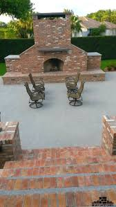 Building An Outdoor Brick Fireplace by 136 Best Brick Veneer For The Home Images On Pinterest