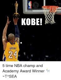 Kobe Bryant Memes - spalding kobe bryant 24 5 time nba ch and academy award winner