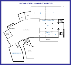 level floor convention level floor map
