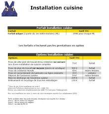 tarif pose cuisine tarif installation cuisine ikea 55 images installation cuisine