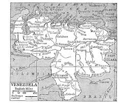 Old Map South America by Maps Of Venezuela Detailed Map Of Venezuela In English Tourist