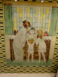 kitchen backsplash murals glass tile mosaic custom tile and tile murals
