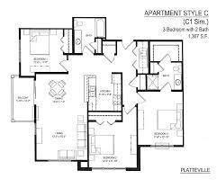 3 Bedroom 2 1 2 Bath Floor Plans Floor Plans Twin Pines