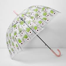 cactus print dome umbrella umbrellas accessories women