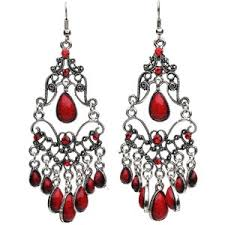 cheap earrings adara cabochon chandelier earrings 5 8 trendy cheap earrings