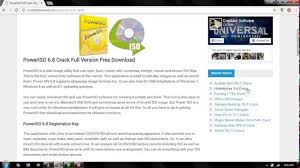 poweriso full version free download with crack for windows 7 poweriso 6 8 crack with registration code is here