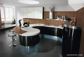 curved kitchen island kitchen fabulous modern curved kitchen island unique bar stools