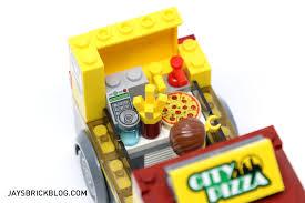 review lego 60150 pizza van