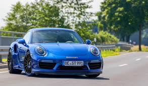 porsche night blue edo competition u0027s 675hp porsche 911 turbo s cracks 340 km h