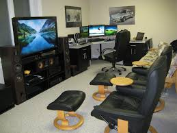 decorations coolest gaming computer room setups with five desktop idea stylish computer room combined with