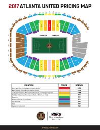 Atl Map Atlanta United Pricing Atlanta United Fc
