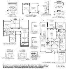 Floor Plan Standards 5040 Model Plan Floor Plan At Bridges At Las Colinas In Irving Tx